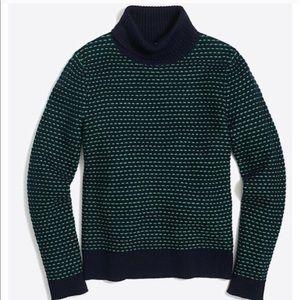 J. Crew | Textured TurtleNeck Pullover Sweater